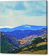 Landscape From Virginia Dale Canvas Print