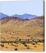 Landscape Galisteo Nm I10n Canvas Print