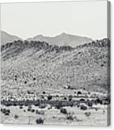 Landscape Galisteo Nm I10p Canvas Print