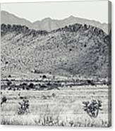 Landscape Galisteo Nm I10u Canvas Print