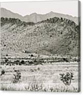 Landscape Galisteo Nm I10v Canvas Print