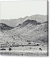 Landscape Galisteo Nm J10a Canvas Print