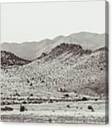 Landscape Galisteo Nm J10c Canvas Print