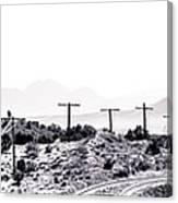 Landscape Galisteo Nm J10u Canvas Print
