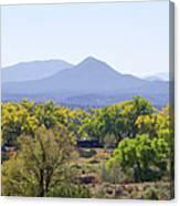 Landscape Galisteo Nm K10e Canvas Print