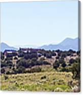 Landscape Galisteo Nm K10h Canvas Print