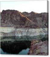 landscape in Hoover dam Canvas Print