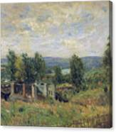 Landscape In Summer Canvas Print