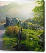 Landscape In Wales Canvas Print