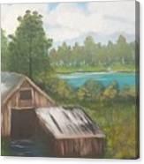 Landscape, March 2016 Canvas Print
