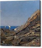 Landscape Marine Background Avendano Martinez, Serafin Canvas Print