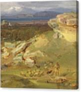 Landscape Near Corinth Canvas Print