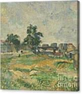 Landscape Near Paris Canvas Print