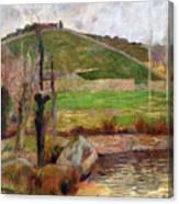 Landscape Near Pont-aven Canvas Print