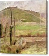 Landscape Near Pont Aven Canvas Print