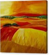 Landscape Of Alentejo Canvas Print