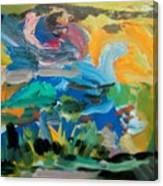 Landscape Palette Canvas Print