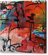 Landscape Sketch18 Canvas Print