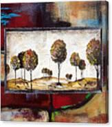 Landscape Vignettes-3 Canvas Print