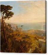 Landscape With Classical Ruins Canvas Print