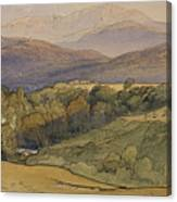 landscape with Lochnagar in the distance Canvas Print