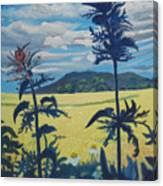Landscape With Nettles Canvas Print