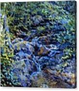 Landscape With Waterfall 1890 Canvas Print