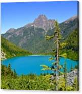 Landslide Lake Canvas Print