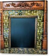 Lane-hooven House Antique Fireplace Canvas Print