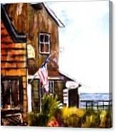 Langley Washington Canvas Print