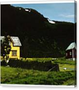 Langsund Canvas Print