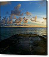 Lanikai At Sunrise Canvas Print