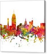 Lansing Cityscape 08 Canvas Print