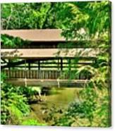 Lanterman's Mill Covered Bridge Canvas Print
