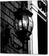 Lantern Black And White Canvas Print