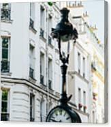 Lantern Clock Canvas Print
