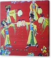 Lantern Dance Canvas Print