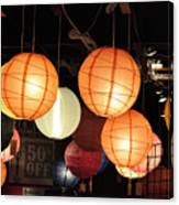 Lanterns 50 Percent Off Canvas Print