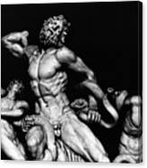 Laocoon And His Sons Aka Gruppo Del Laocoonte Canvas Print