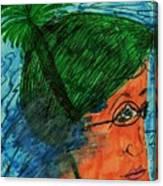 Lap Swim Canvas Print