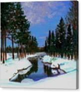 Lapland Canvas Print