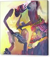 Larakaraka Dance Canvas Print