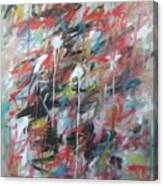Large Abstract No 4 Canvas Print
