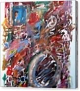 Large Abstract No. 6 Canvas Print