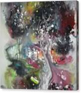 Large Color Fever Abstract25-original Abstract Painting Canvas Print