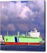 Large Oil-tanker Canvas Print