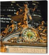 Largest Tiffany Clock Canvas Print
