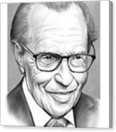 Larry King Canvas Print
