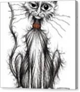 Larry The Cat Canvas Print