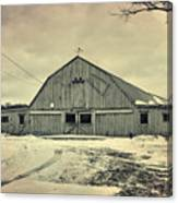 Larsen Road Barn Canvas Print
